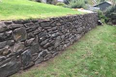 Pickout and Repointing of Garden Walls