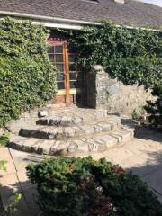 New stone steps in Blair Athol